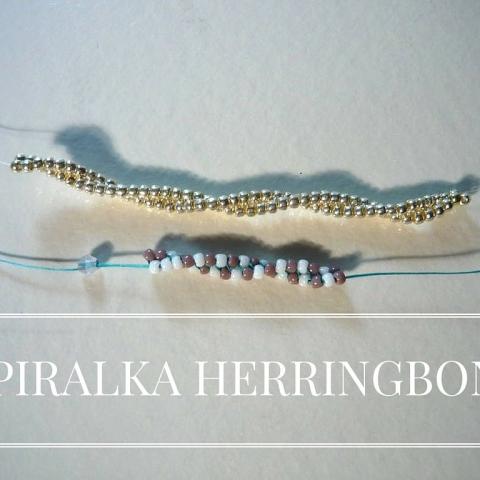 Spiralka herringbone
