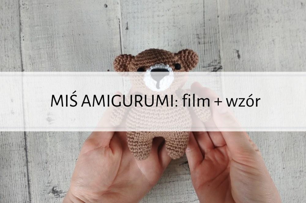 Qrkoko.pl - PROSTY MIŚ AMIGURUMI - wzór + tutorial video