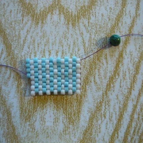 Tutorial na Brick Stitch