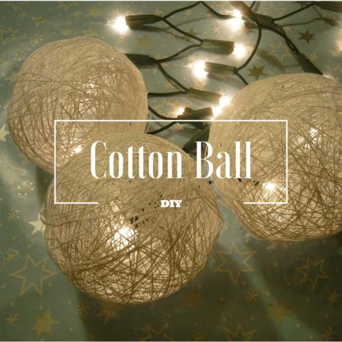Jak zrobić Cotton Ball?