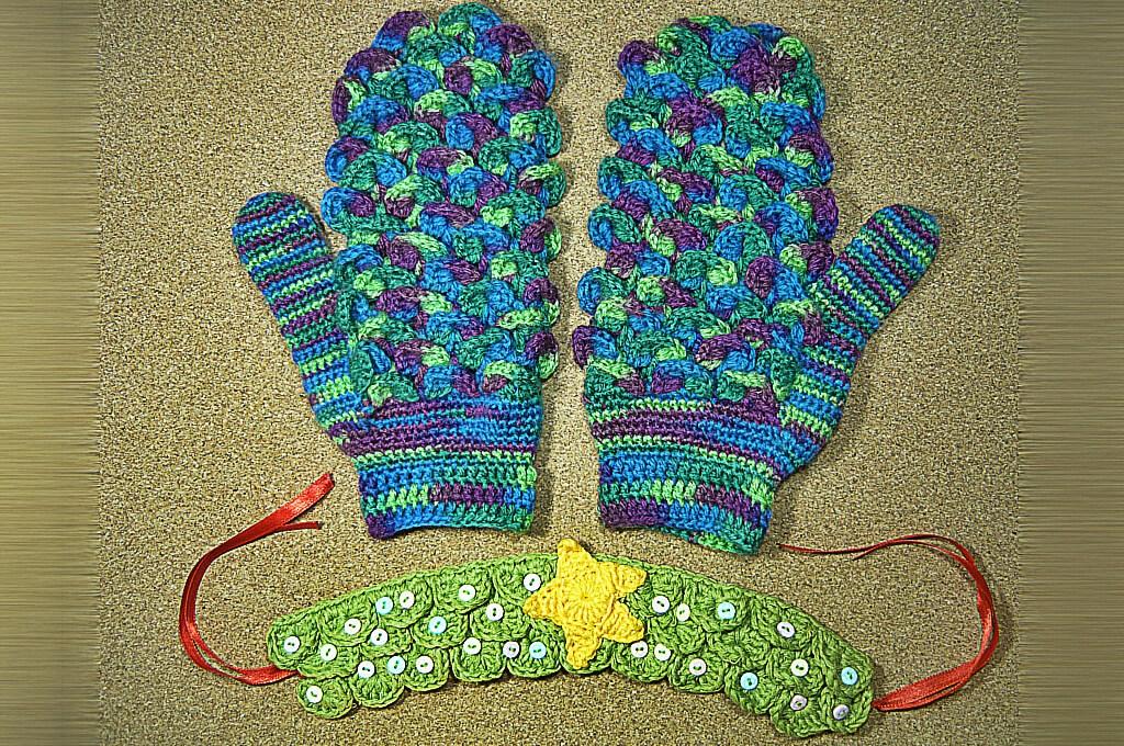 Qrkoko.pl - Ścieg krokodyli (Crocodile Stitch) – Kurs Szydełkowania [lekcja #4]