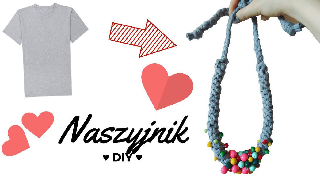 Qrkoko.pl - Naszyjnik DIY z koszulki NA LATO