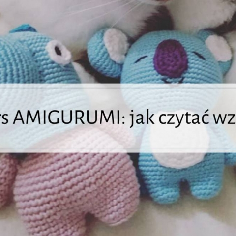 Qrkoko.pl - KURS AMIGURUMI: jak czytać wzory?